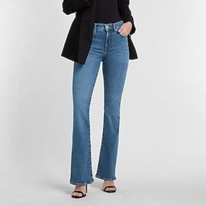 Express Stretch Fit & Flare Jeans 5\6